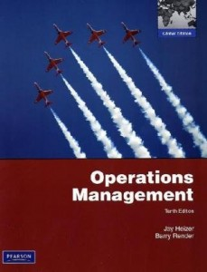 Operations Management, 10th edition Jay Heizer and Barry Render